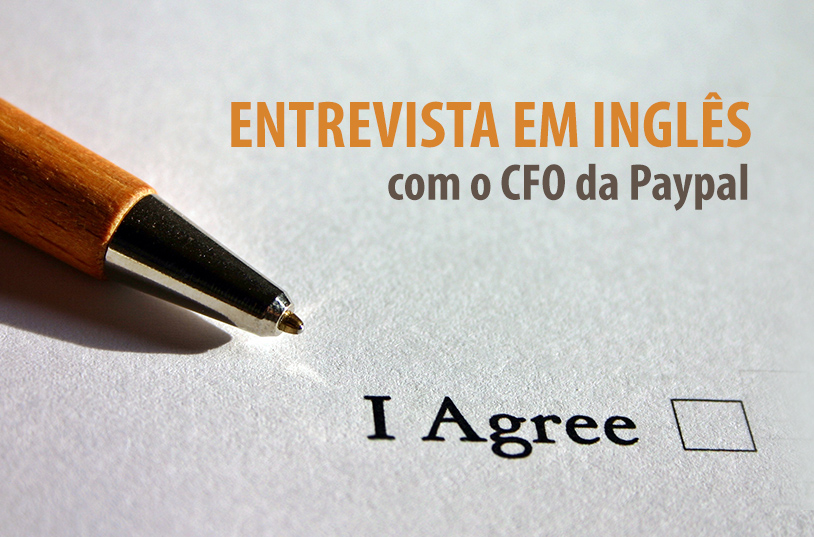 Simulação de entrevista em inglês com CFO da Paypal LatAm